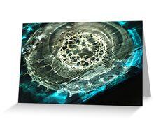 Terrestrial Ocean Greeting Card