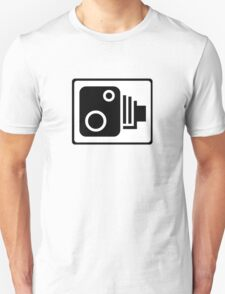 Speed Camera Symbol T-Shirt