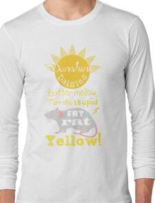 Sunshine daisies butter mellow... Long Sleeve T-Shirt