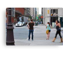 Street capture  Canvas Print