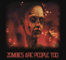 ZOMBIES ARE PEOPLE TOO by Michael Beers