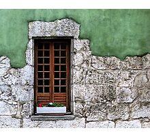 Windows 4 Photographic Print