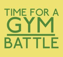 Time For A Gym Battle - Green by JoeDesigns