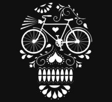 Day Of The Dead Bike Skull by turfinterbie