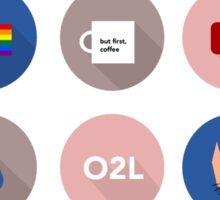 Connor Franta Infographic Sticker