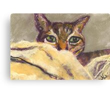 I See You (Pastel) Canvas Print