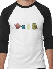A lovely cup of tea. Men's Baseball ¾ T-Shirt
