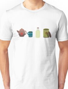 A lovely cup of tea. Unisex T-Shirt