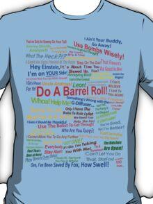 Star Fox Quotes T-Shirt