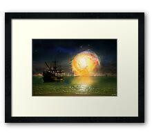 Mystic Shores Framed Print