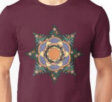 Gingerbread Man Wreath Unisex T-Shirt