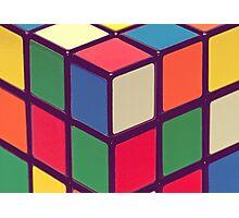 Vintage Cubes Photographic Print