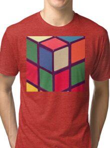 Vintage Cubes Tri-blend T-Shirt
