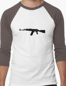AK-47 assault rifle Kalashnikov Men's Baseball ¾ T-Shirt