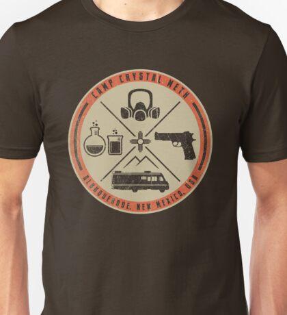 Camp Crystal Meth Merit Badge Unisex T-Shirt