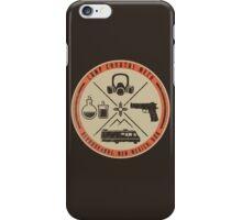 Camp Crystal Meth Merit Badge iPhone Case/Skin