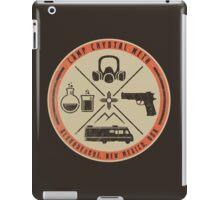 Camp Crystal Meth Merit Badge iPad Case/Skin