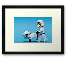 Darkside Framed Print