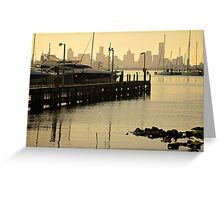 Williamstown Sail Yards  Greeting Card