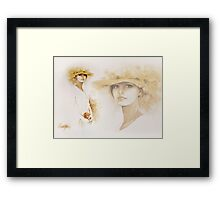 """Romantic"" Collage Framed Print"