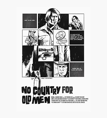 No Country for Old Men Photographic Print