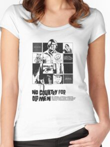 No Country for Old Men Women's Fitted Scoop T-Shirt