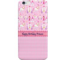 Princess Birthday iPhone Case/Skin