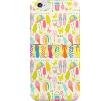 Flip Flop Summer Fun iPhone Case/Skin