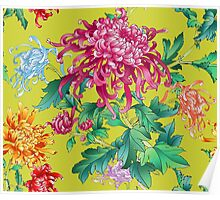 Japanese Bouquet Poster