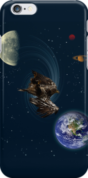 Bald Eagle Earth Planets Fantasy Phone Case by NaturePrints