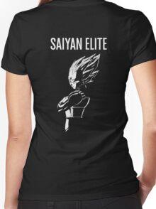 Saiyan Elite Women's Fitted V-Neck T-Shirt