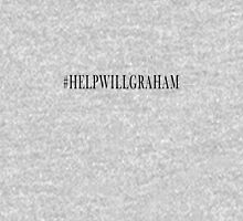 Help Will Graham (Black) Womens Fitted T-Shirt