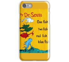 dr. seuss acrylic painting iPhone Case/Skin