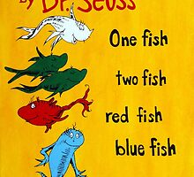dr. seuss acrylic painting by mrminorr