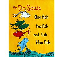 dr. seuss acrylic painting Photographic Print