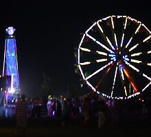 Bonnaroo Ferris Wheel by Cathy Cale