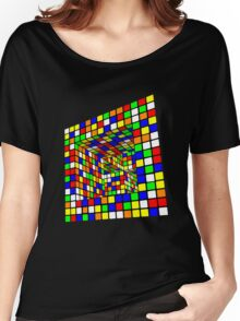 Illusion Cube 2 Women's Relaxed Fit T-Shirt