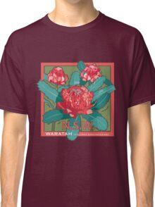 Waratah- NSW State flower Classic T-Shirt