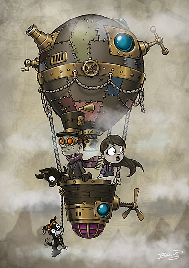 SteampunkSubstationB_04 by Craig Bruyn