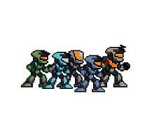 Halo pixel art by DIMIART