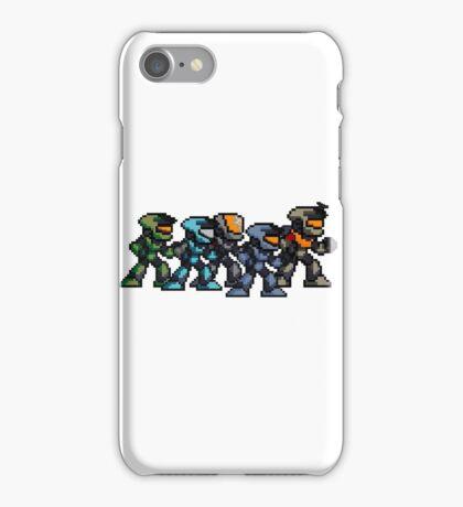 Halo pixel art iPhone Case/Skin