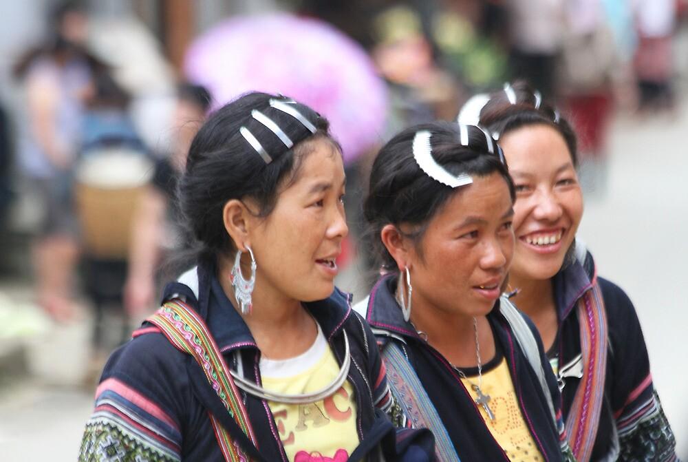 Sapa Hill Tribes by byronbackyard