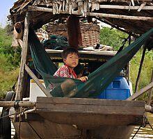Cambodia - Lake Tonl'e Sap - #4 by Malcolm Heberle
