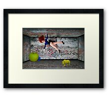 Small Rooms Framed Print