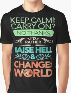 Change the World Graphic T-Shirt