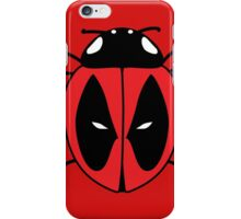 Bug with a mouth iPhone Case/Skin