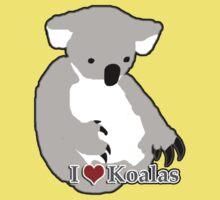 I love koalas One Piece - Short Sleeve