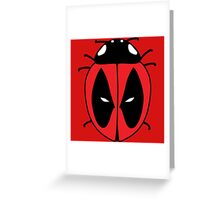 Bug with a mouth Greeting Card