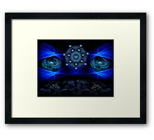 ©DA I Can See You / Akasha Framed Print