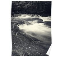 Cascading Water Poster